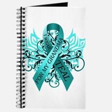 I Wear Teal for my Grandma Journal