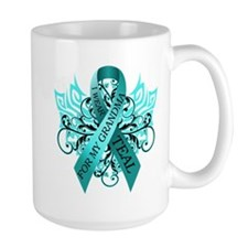 I Wear Teal for my Grandma Ceramic Mugs