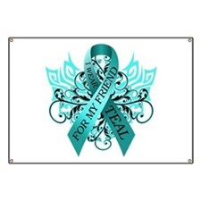 I Wear Teal for my Friend Banner
