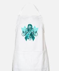 I Wear Teal for my Friend Apron