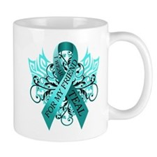 I Wear Teal for my Friend Small Mugs
