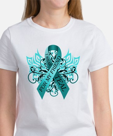I Wear Teal for my Friend Women's T-Shirt