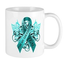 I Wear Teal for my Daughter Mug