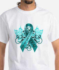 I Wear Teal for my Daughter Shirt