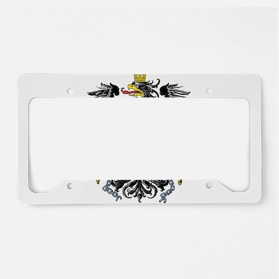Funny Germany flag License Plate Holder