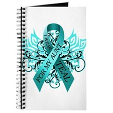 I Wear Teal for my Aunt Journal