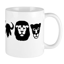 Africa animals big five Mug