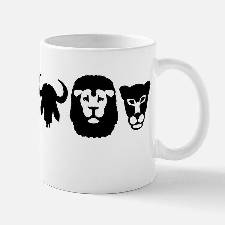 Africa animals big five Mug