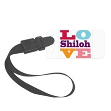 I Love Shiloh Luggage Tag