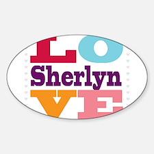 I Love Sherlyn Decal