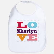 I Love Sherlyn Bib