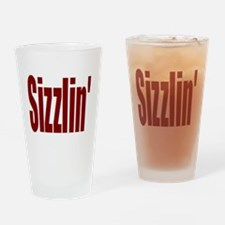Sizzlin' Drinking Glass