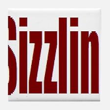 Sizzlin' Tile Coaster
