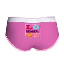 I Love Shaniya Women's Boy Brief