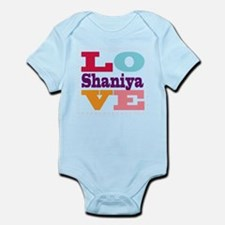 I Love Shaniya Infant Bodysuit