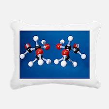 Glyceraldehyde isomer models - Rectangular Canvas