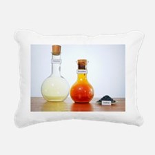 Halogens - Rectangular Canvas Pillow
