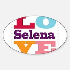 I Love Selena Decal
