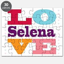 I Love Selena Puzzle