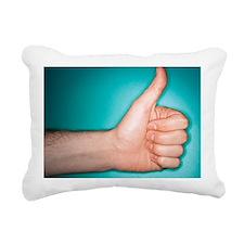 Thumbs up sign - Rectangular Canvas Pillow