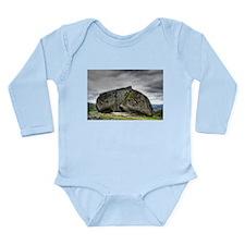 Rock house Long Sleeve Infant Bodysuit