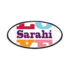 I Love Sarahi Patches