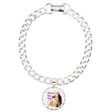 Icey woman's best friend Icelandic sheepdog Bracelet