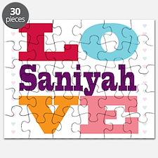 I Love Saniyah Puzzle