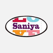 I Love Saniya Patches