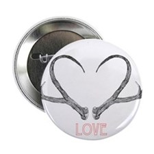 "Antler Love 2.25"" Button"