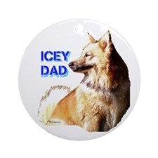 Icey dad for fathers day icelandic sheepdog Orname