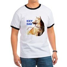 Icey dad for fathers day icelandic sheepdog T