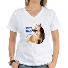 Icey dad for fathers day icelandic sheepdog Women'