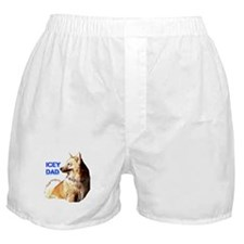 Icey dad for fathers day icelandic sheepdog Boxer