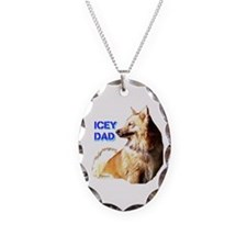 Icey dad for fathers day icelandic sheepdog Neckla