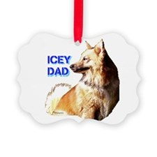 Icey dad for fathers day icelandic sheepdog Pictur