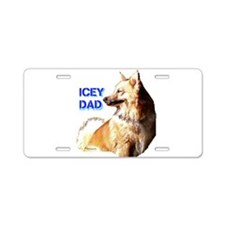 Icey dad for fathers day icelandic sheepdog Alumin