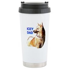 Icey dad for fathers day icelandic sheepdog Cerami