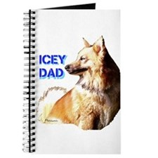 Icey dad for fathers day icelandic sheepdog Journa