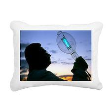High-powered bulb - Rectangular Canvas Pillow