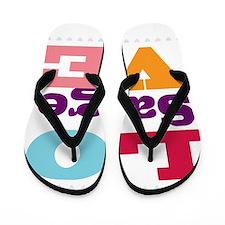 I Love Saige Flip Flops
