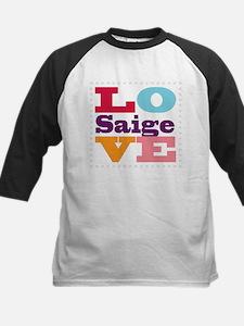 I Love Saige Tee