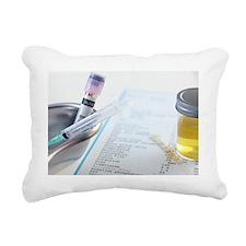Medical testing - Rectangular Canvas Pillow