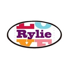 I Love Rylie Patches