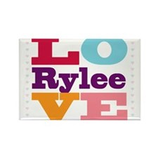 I Love Rylee Rectangle Magnet