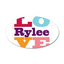 I Love Rylee Wall Decal