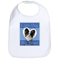 Little Dog Big Heart Bib