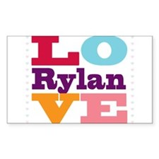 I Love Rylan Decal