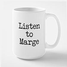Listen to Marge Coffee Mug