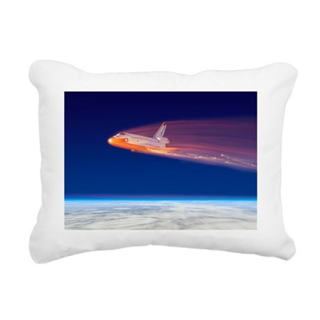 Space Shuttle Columbia disaster - Rectangular Canv